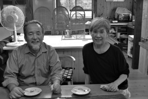 The Kodani Couple who hosts official Japanese traditional tea ceremony.